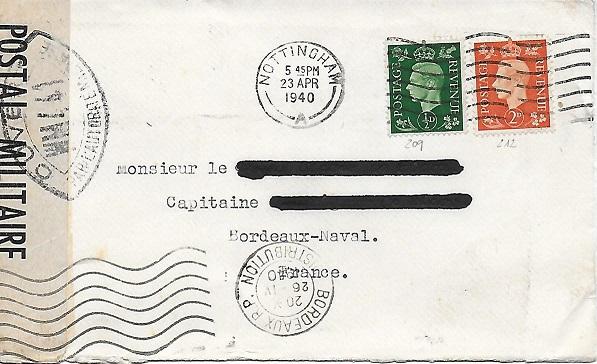 Les Cachets Anonymes de 1940. Anonym11