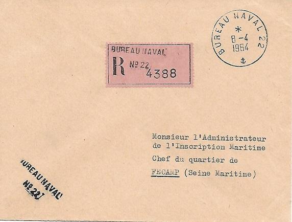 N°22 - Bureau Naval d'Oran/Mers el Kébir Bur_2212