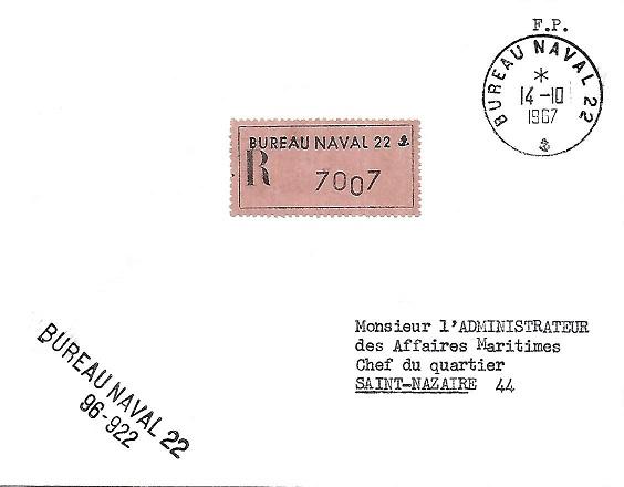 N°22 - Bureau Naval d'Oran/Mers el Kébir Bur_2213
