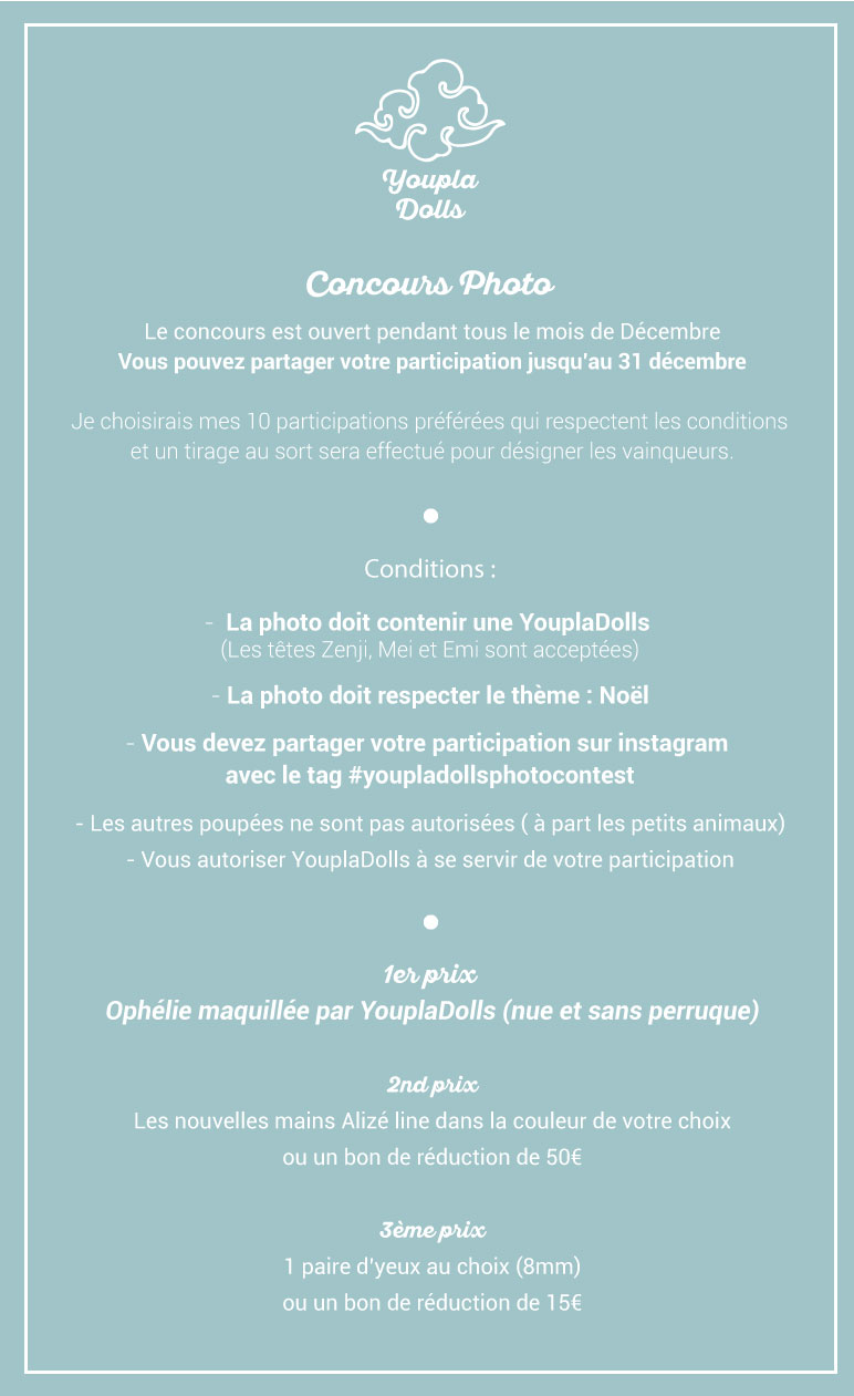 ★YouplaDolls ★ Précommande d'Ophélie ouverte ! p.21 - Page 20 Notice10