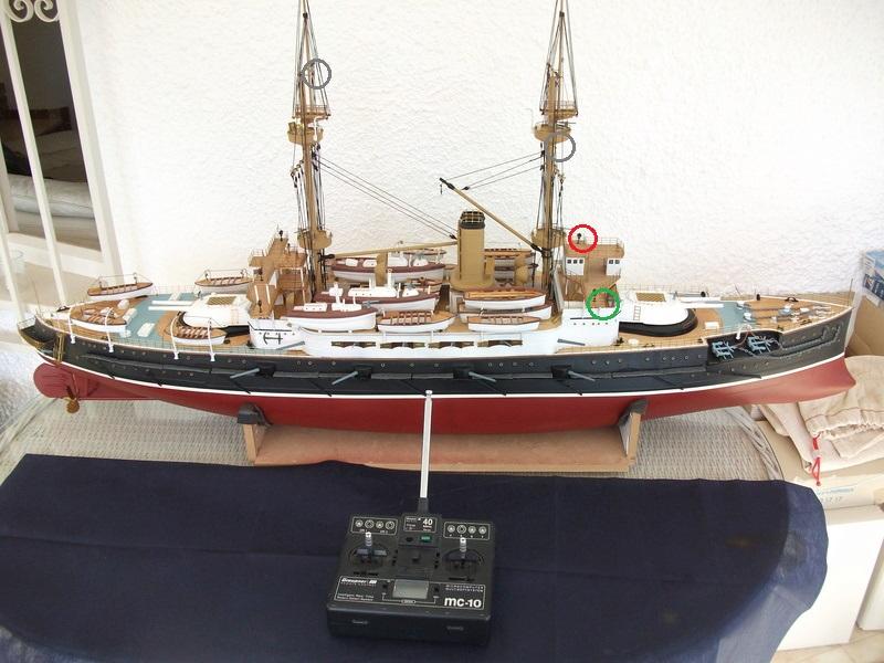 HMS HANNIBAL 1/96  (Predreadnought) DEAN'S MARINE - Page 7 Dscf3711