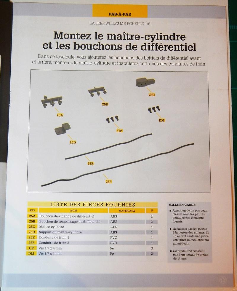 Jeep Willys - 1/8ème - Ed. Hachette - Construction par Glénans (Partie 1) - Page 5 Dscn6855