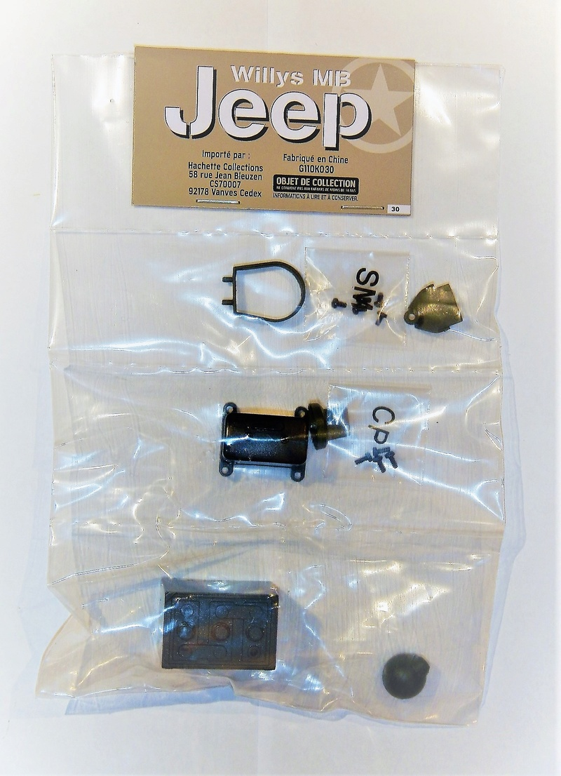 Jeep Willys - 1/8ème - Ed. Hachette - Construction par Glénans (Partie 1) - Page 21 Dscn7091