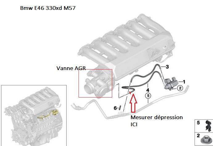 [ BMW E46 330xd M57 ] Vanne EGR qui ne s'ouvre pas. 11_m5710