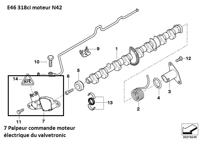 [ BMW E46 318ci N42 an 2002 ] Problème géométrie variable 11_pal10