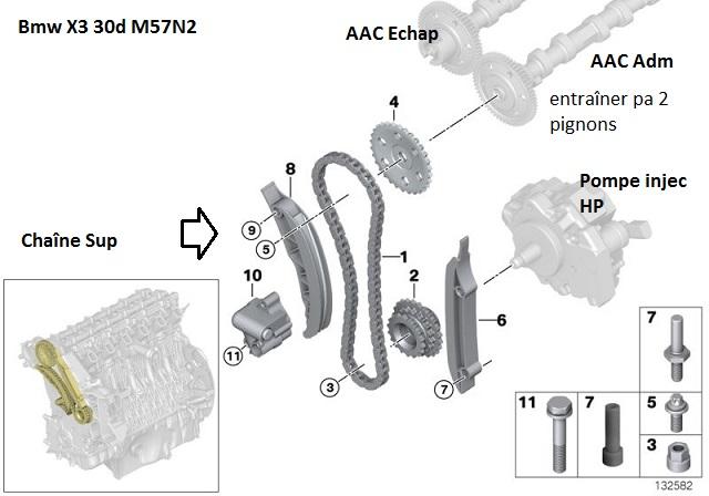 [ bmw E83 X3 3.0d M57N2 an 2007 ] contrôler chaîne distribution (résolu) 11_sui10