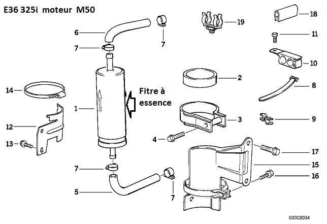 [ Bmw E36 325i an 1994 ] Localiser alarme,neutralisation, warning allumés,démarre pas.  13_e3611