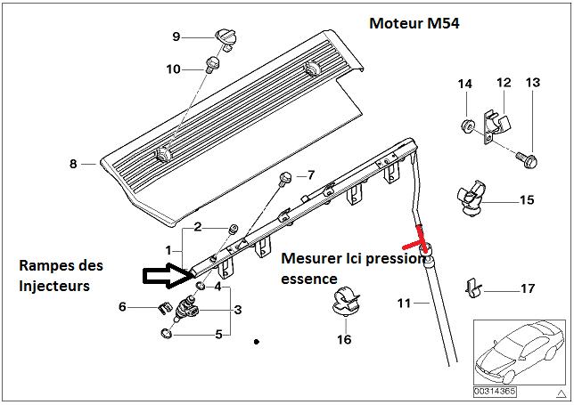 [ BMW E46 M54 320I an 2002 ] démarrage laborieux a froid et encore plus après avoir roulé 13_m5410