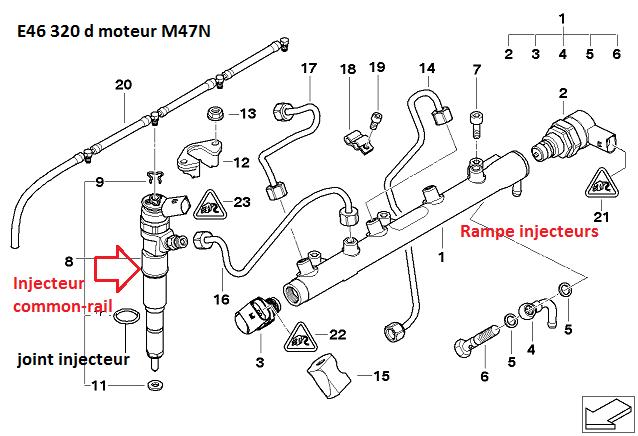 [ BMW E46 320d M47N an 2002 ] moteur cale au ralenti 13_ram10