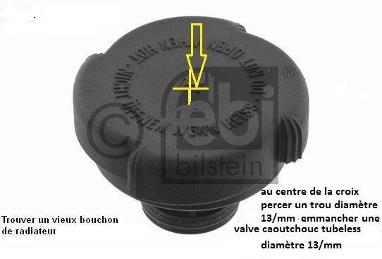 [ Bmw e46 316i 1,6L an 2000 ] Problème liquide refroidissement monte en pression 17_32010