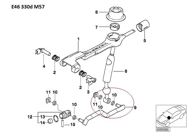 [ BMW E46 330D M57 an 2000 ] problème levier de vitesse inactif 25_e4610