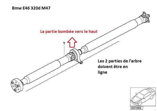 [ BMW e46 320d M47 an 2001 ] Ligne échappement touche la transmission (résolu) 26_arb10