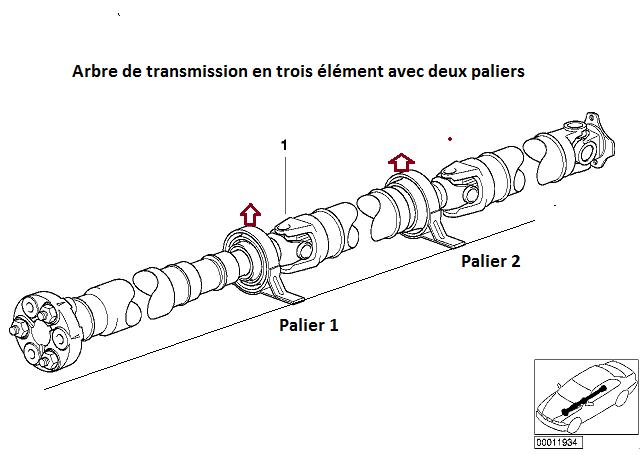 [ BMW e46 320d M47 an 2001 ] Ligne échappement touche la transmission (résolu) 26_e4610
