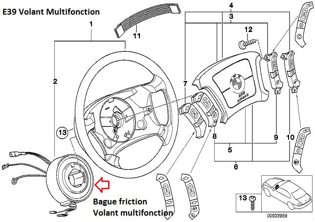 [ BMW E39 525 TDS an 1997 ] Problème commande au volant 32_bag10