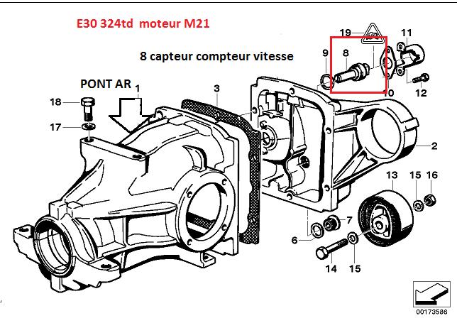 [ BMW e30 324 TD an 1989 ] problème compteur de vitesse et saccade moteur 33_cap10