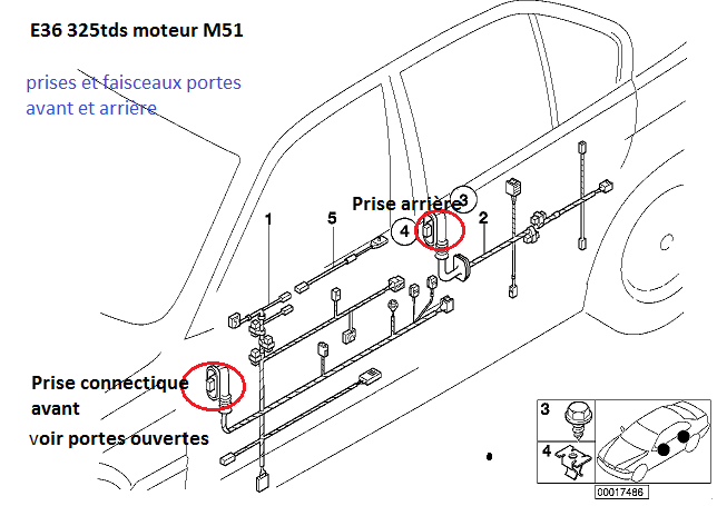 ( Abandonné [ BMW e36 325 tds an 1997 ]  problème de centralisation 61_e3610