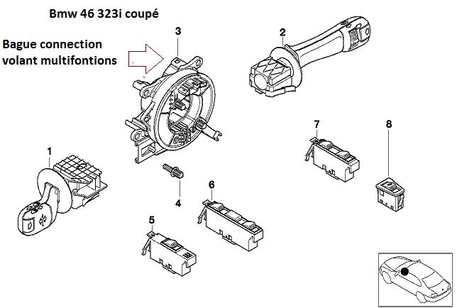 [ BMW E46 323ci an 1999 ] Problèmes électrique 61_e4610