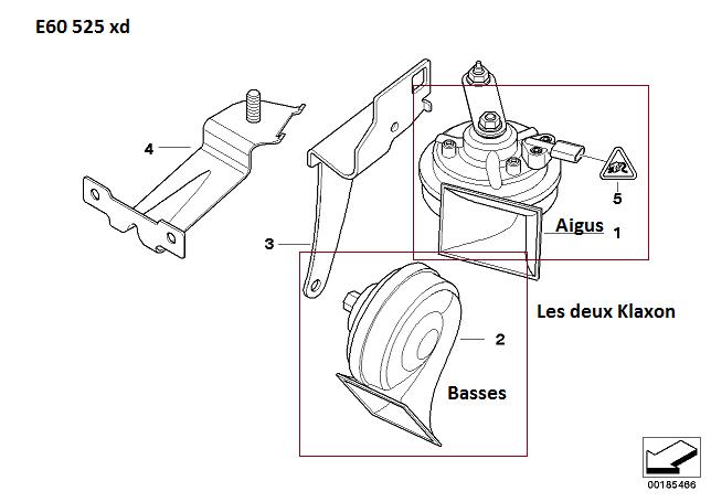 [résolu][ BMW E60 525xd an 2009 ] klaxon ne fonctionne plus (résolu) 61_e6011