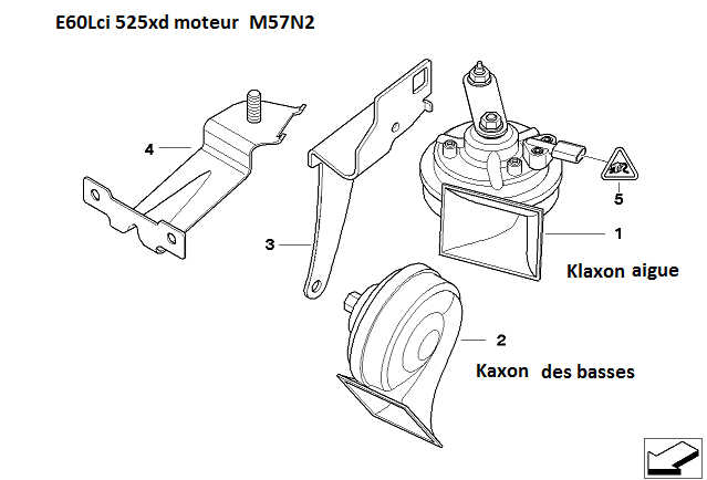 [résolu][ BMW E60 525xd an 2009 ] klaxon ne fonctionne plus (résolu) 61_e6013