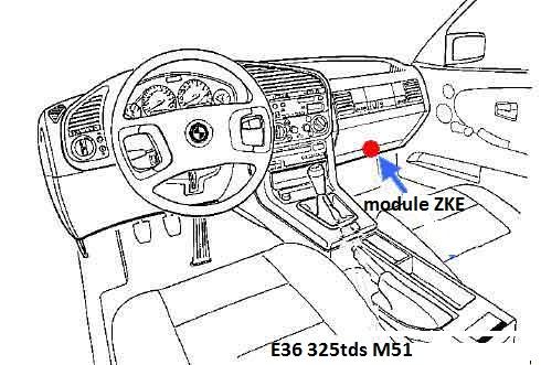 ( Abandonné [ BMW e36 325 tds an 1997 ]  problème de centralisation 61_int10