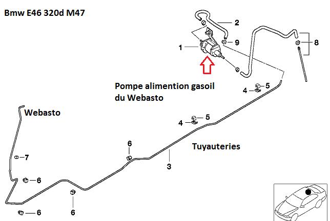 [ bmw e46 320d M47 an 1999 ] Régulateur de chaleur moteur qui fume 64_web10