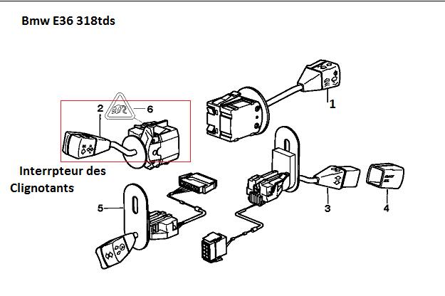 [ BMW E36 318 TDS an 1998 ] Problème clignotant et warning côté gauche E36_3112