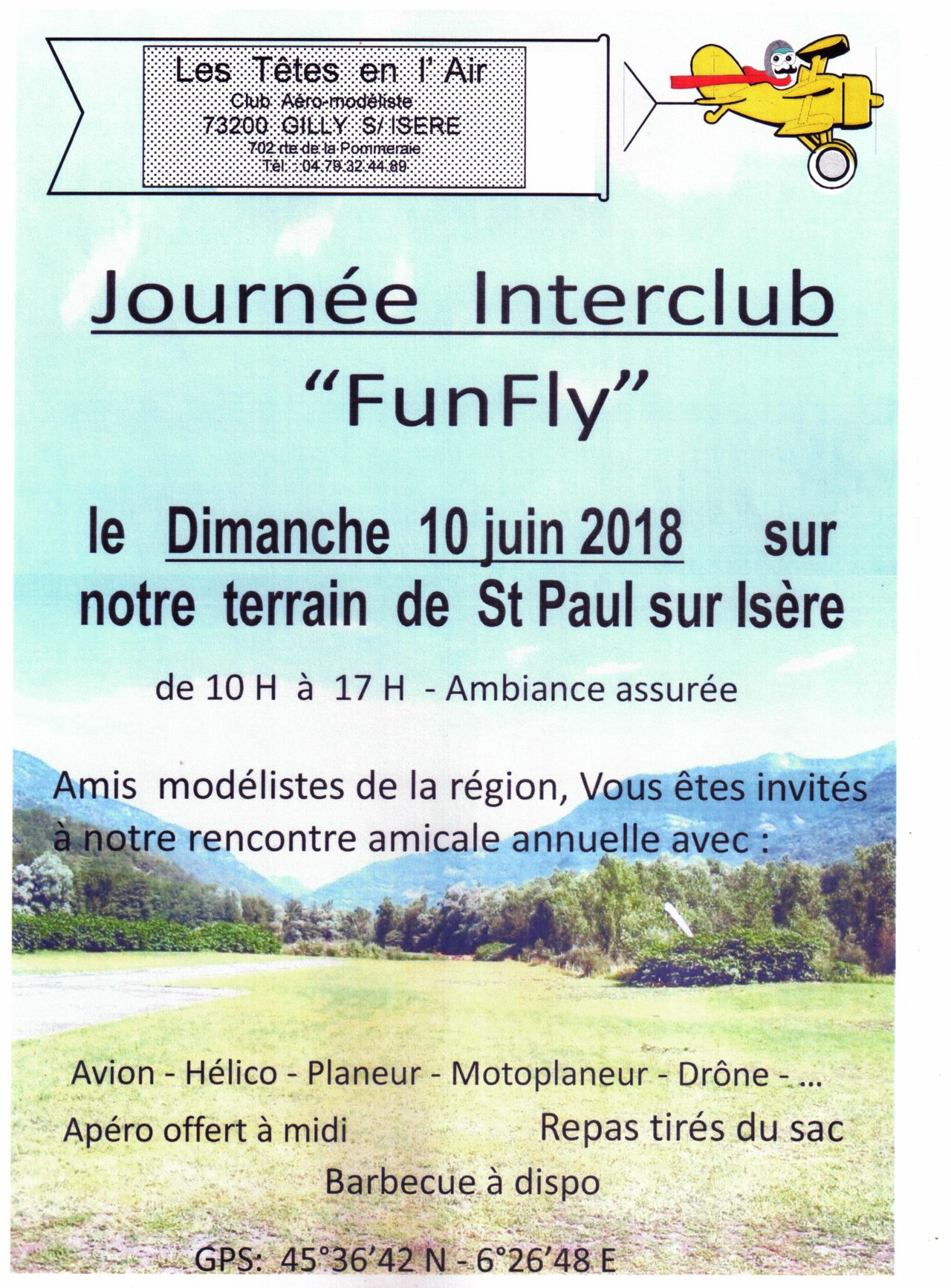 Sorties. Rencontres, compètitions Funfly10