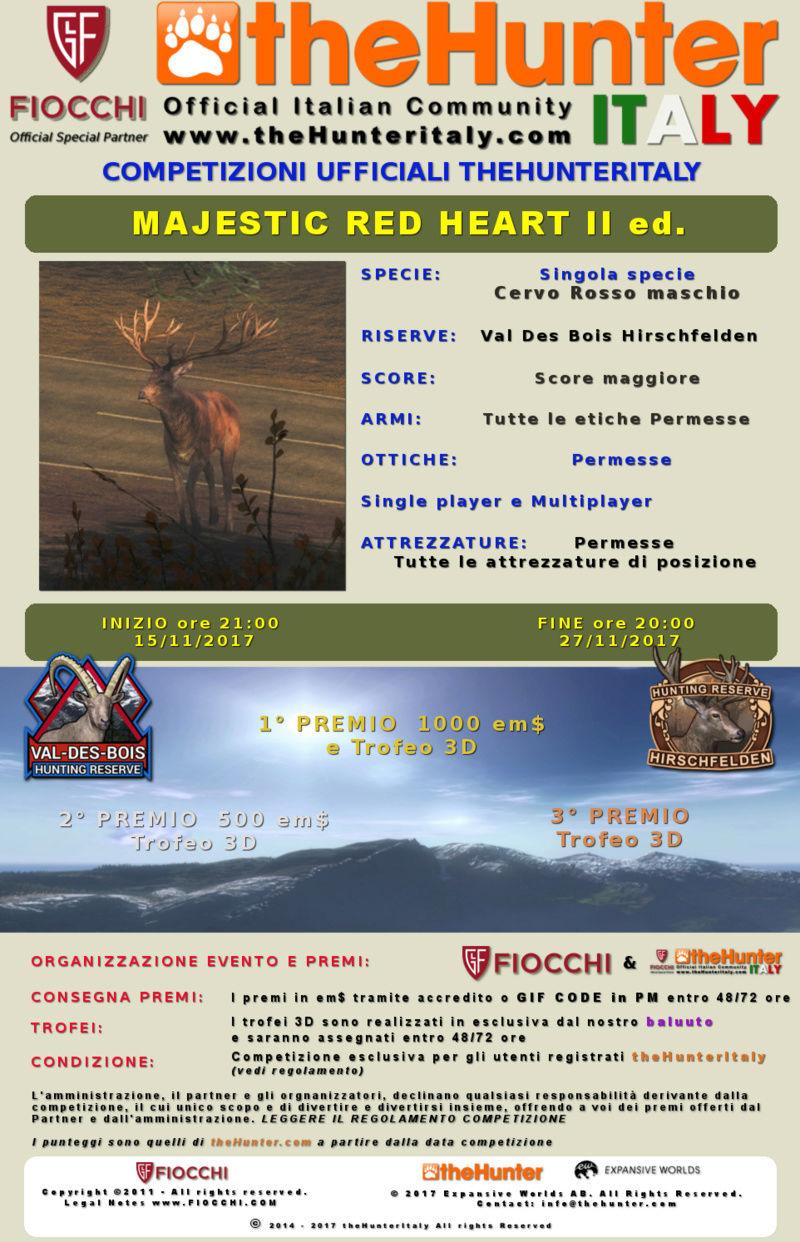 [CONCLUSA] Competizioni ufficiali TheHunteritaly - Majestic Red Heart II edition  - Cervo Rosso Maschio - Cervo_11