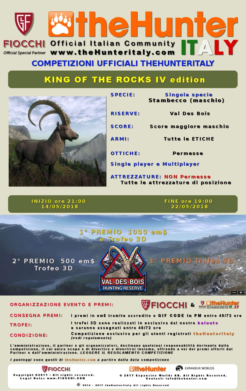 [CONCLUSA] Competizioni ufficiali TheHunteritaly - King of the Rocks IV ed. - Stambecco - King_o10