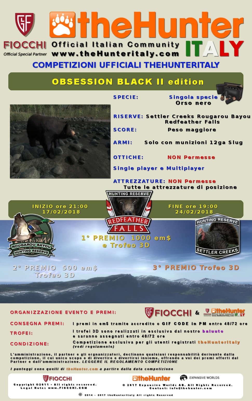 [CONCLUSA] 4444 Special Event - Competizioni ufficiali TheHunteritaly - Obsession Black II edizione  - Orso Nero - Obsess11