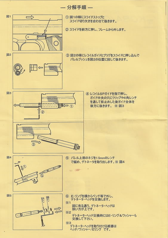 Tanio Koba GM-7 Colt 1911 Tkgm7s11