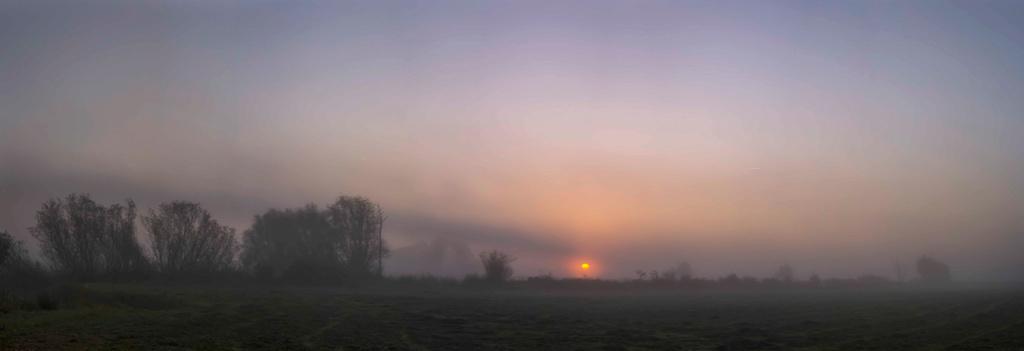 Soleil dans la brume Bocage10