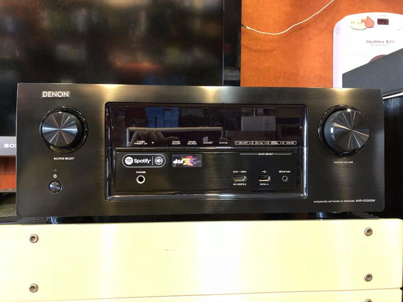 Denon AVR X3300W Dolby Atmos, DTS X AV Receiver (Used) Denon_10