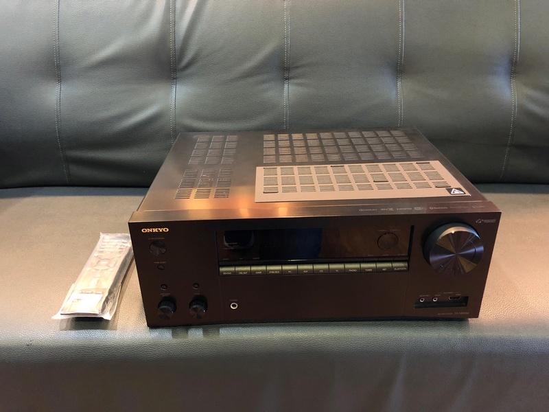 Onkyo TX-NR 656 DTS x, Dolby Atmos AV Receiver (Used) Img_1511