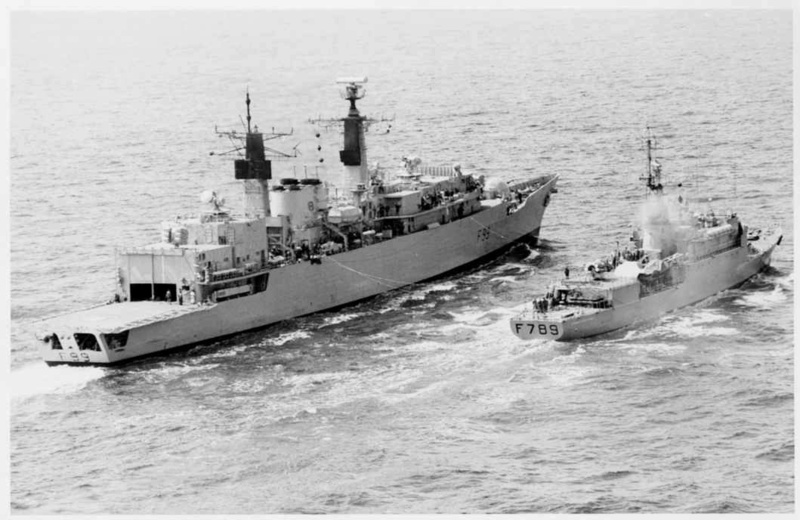 FREGATES ASM CLASSE BROADSWORD (TYPE 22) NV (TERMINE) Hms_co20