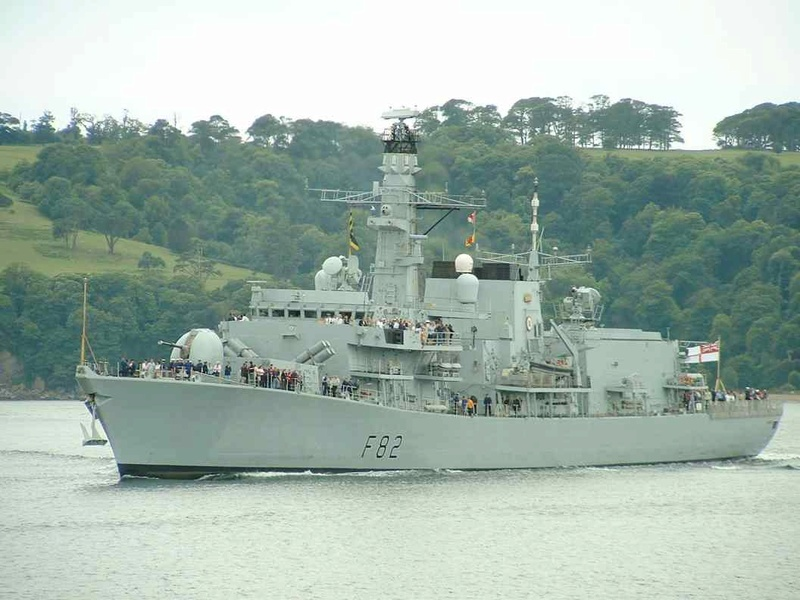 FREGATES MULTI-RÔLES CLASSE DUKE (TYPE 23) NV (Terminé) Hms_so16