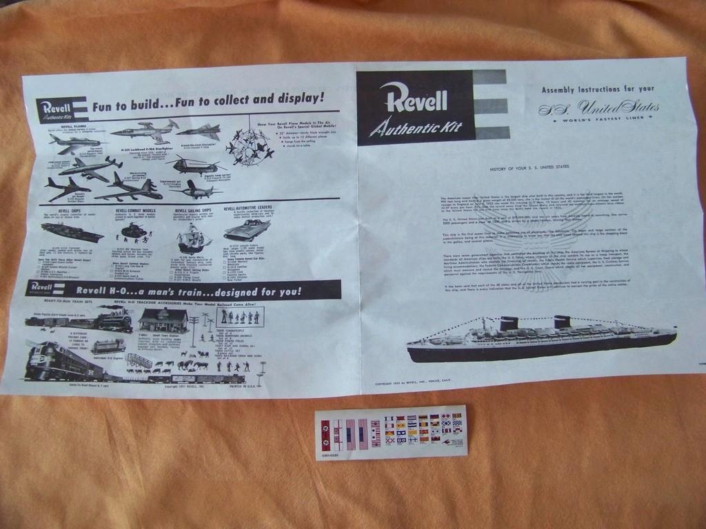 Paquebots France et United States (Airfix & Revell 1/600°) par PLEF 100_9728
