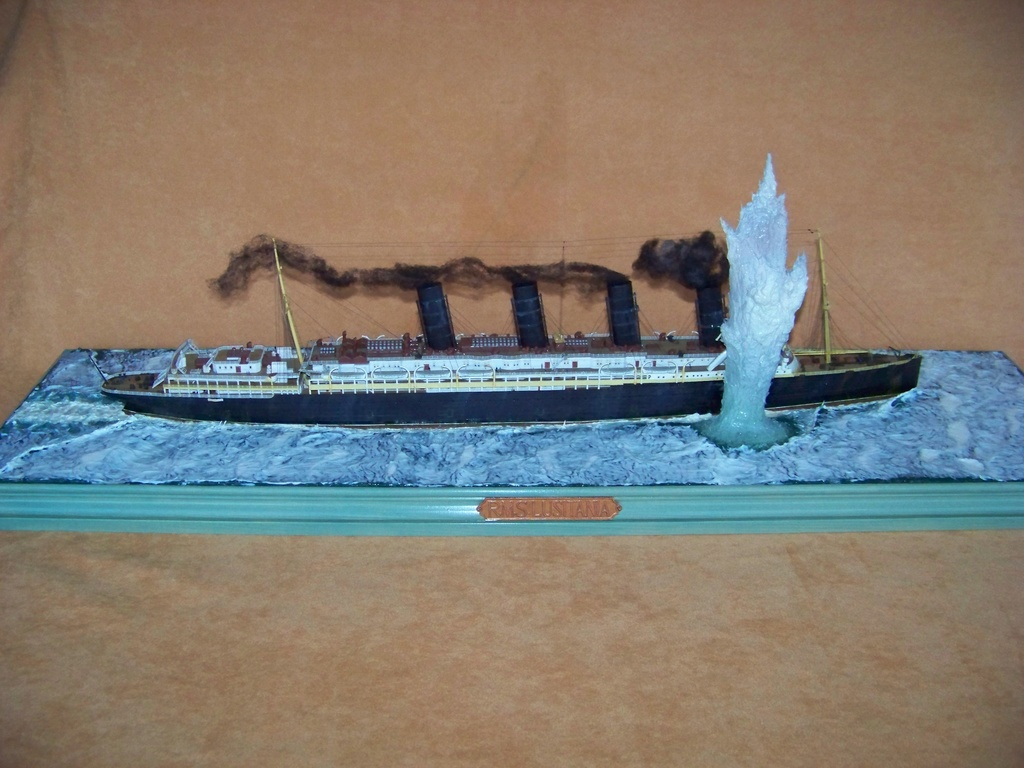 Dio : Torpillage du RMS Lusitania (Gunze Sangyo 1/350°) par PLEF 100_9787