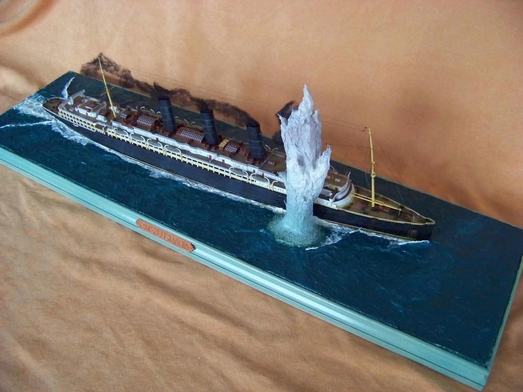 Dio : Torpillage du RMS Lusitania (Gunze Sangyo 1/350°) par PLEF - Page 2 100_9795