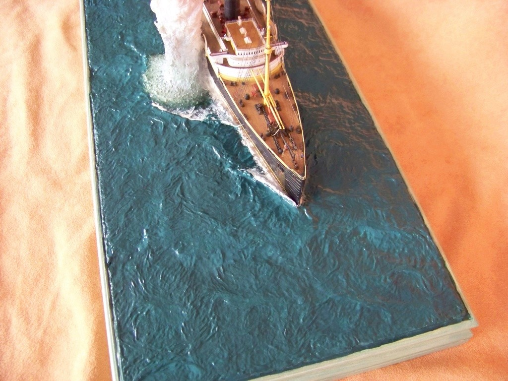 Dio : Torpillage du RMS Lusitania (Gunze Sangyo 1/350°) par PLEF - Page 2 100_9796