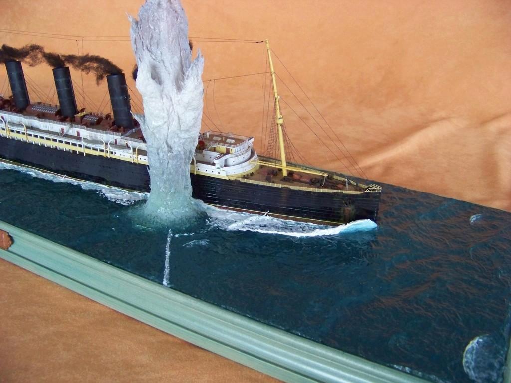 Dio : Torpillage du RMS Lusitania (Gunze Sangyo 1/350°) par PLEF - Page 2 100_9799