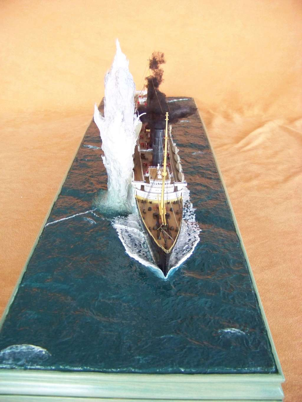 Dio : Torpillage du RMS Lusitania (Gunze Sangyo 1/350°) par PLEF - Page 2 100_9814
