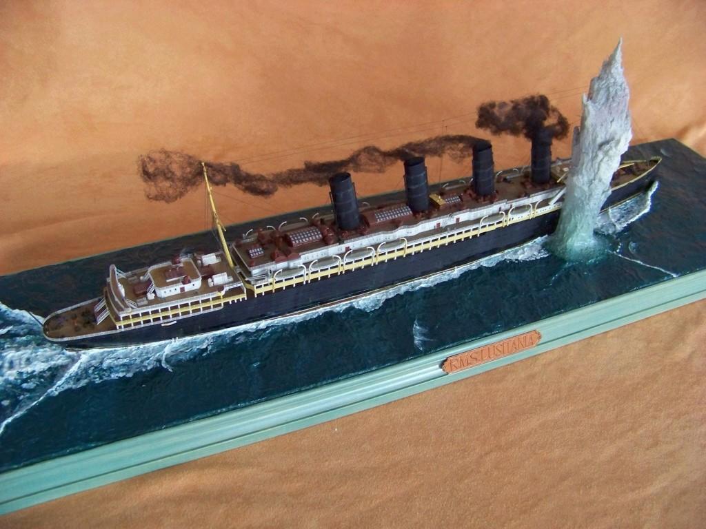 Dio : Torpillage du RMS Lusitania (Gunze Sangyo 1/350°) par PLEF - Page 2 100_9815