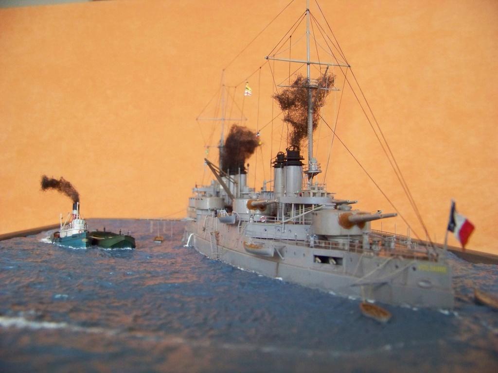 Cuirassé Voltaire, Hobby Boss 1/350 diorama terminé. 100_9841