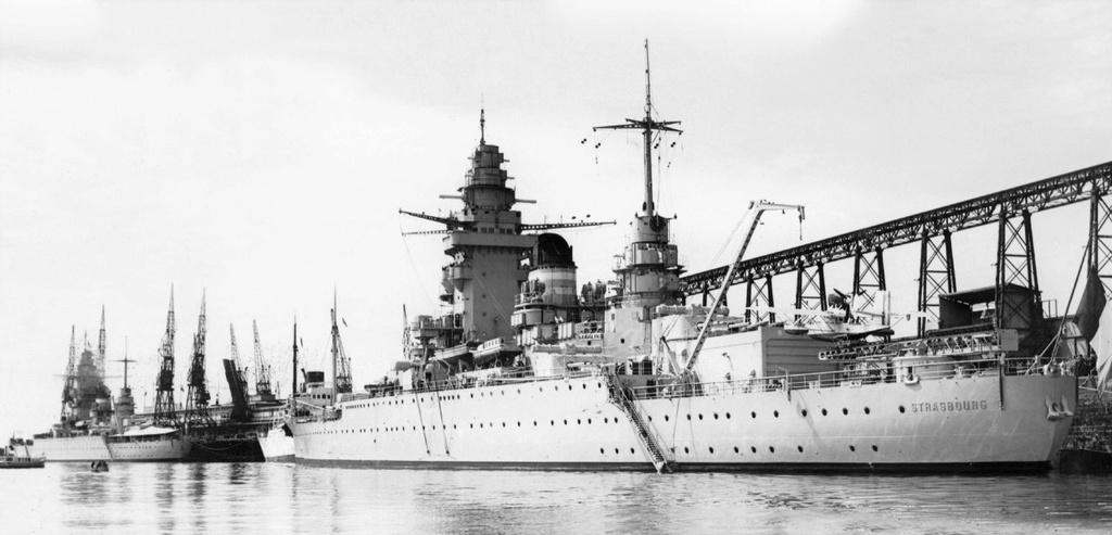 Cuirassé Strasbourg 1942 Cuiras11