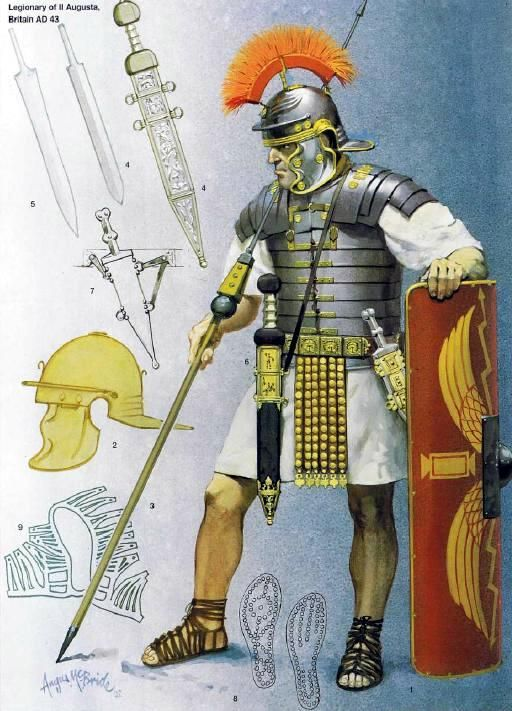 ROMAN Legionarius Young miniatures 1/10 - Page 2 03401f10