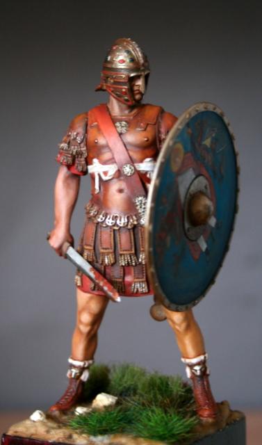 (IIIe) Vitrine  de Duck: Les quat' centurions.... Img_6522