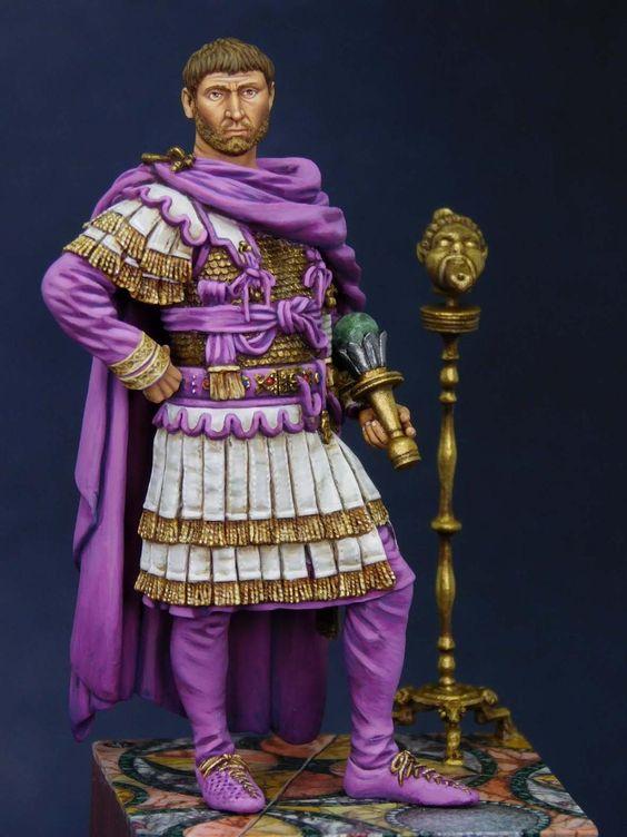 (IIIe) Vitrine  de Duck: Officier romain de chez SGF - Page 5 Marcus10