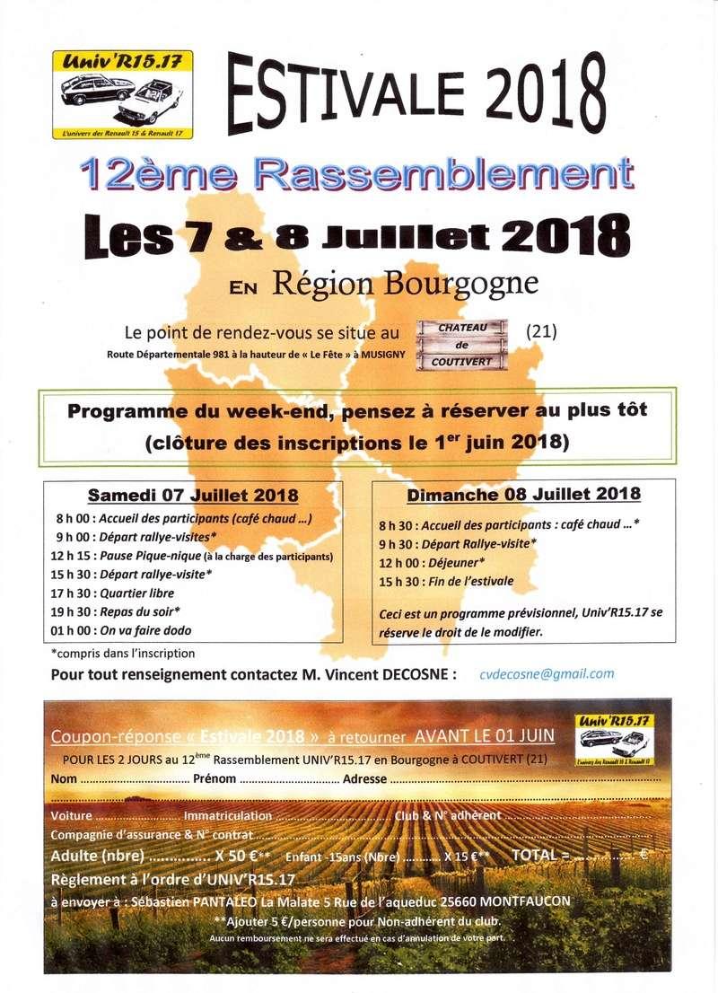 Rassemblement Estival 2018 en Côte d'Or, les 7 & 8 Juillet   - Page 2 Image011