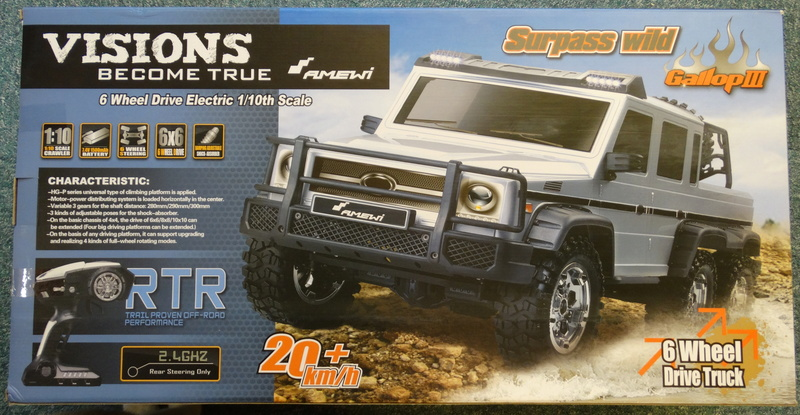 Surpass WILD 3 6WD Crawler 1:10 Dsc09110